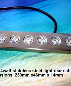 54-watt-stainless-steel-underwater-lights