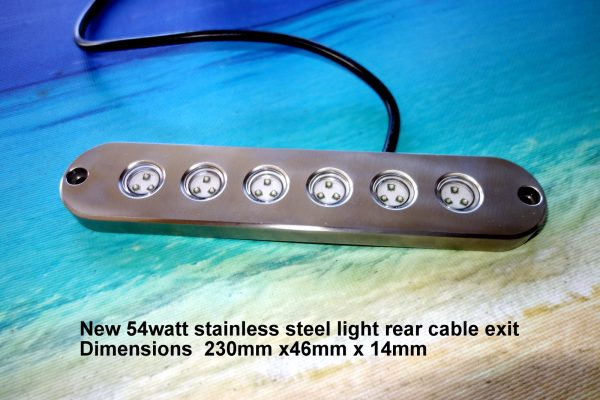 54-watt-stainless-steel-underwater-lights
